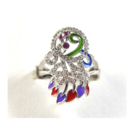 Iota Collection-Peacock Ring