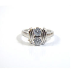Iota 925 Sterling silver CZ Ring