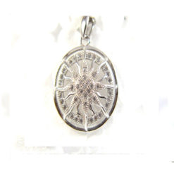 Iota Collection Sterling Silver Pendant