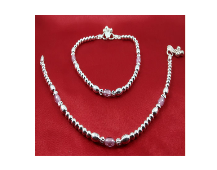 Iota Collection Silver Anklet-CB27122018POAK04180XXXX010.